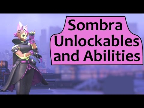 Sombra Skins, Emotes, Voice Lines, Highlight Intros And Abilities