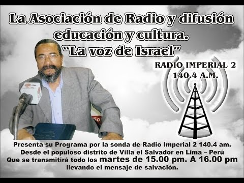 """"""" La Voz de Israel"""" - Radio y Difusión"""