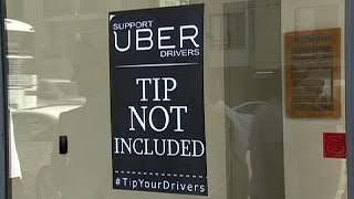 Водители Uber недовольны заработком - economy(Мобильный сервис вызова автомобиля с водителем Uber вызывает протесты не только