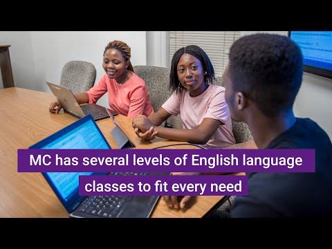 የእንግሊዘኛ ቁዋንቁዋ ተናጋሪ ላልሆኑ (immigrant ) ተማሪዎች  የሚሰጡ እንግሊዘኛ ክፍሎች English classes for non native speakers