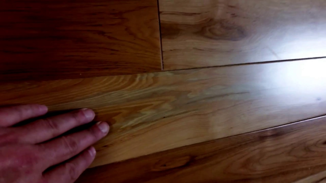 Hickory Stain Issues You