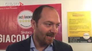 grosseto giacomo gori  il candidato a sindaco del movimento 5 stelle