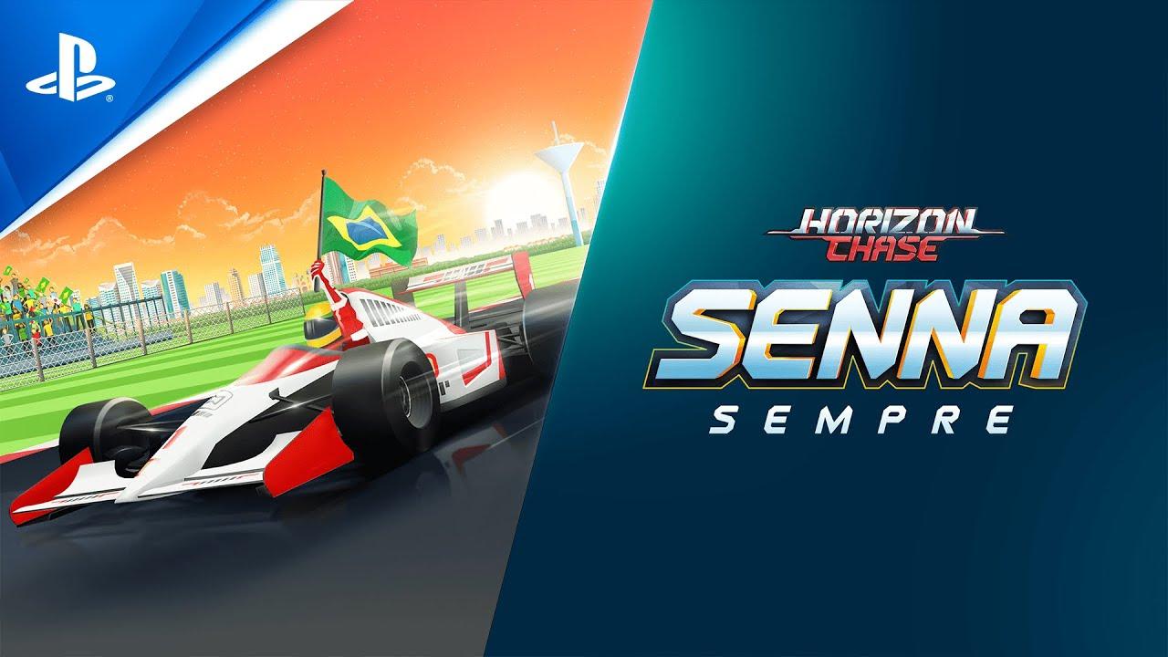 Horizon Chase Turbo Senna Sempre - Trailer de Lançamento | PS4