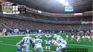 NFL 2012 TF Week 12 - Washington Redskins (4-6) vs Dallas Cowboys (5-5) - 1st Half - NFL 2K5 - HD