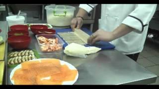 Рецепт приготовления открытого ролла