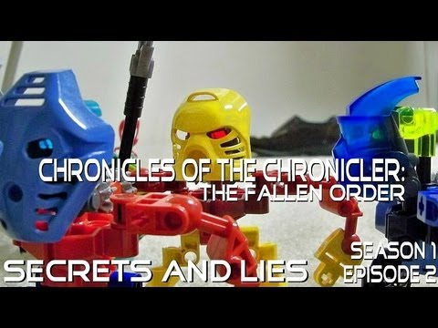 Chronicles of the Chronicler : The Fallen Order - Episode 2: Secrets and Lies (Bionicle Stop-Motion)