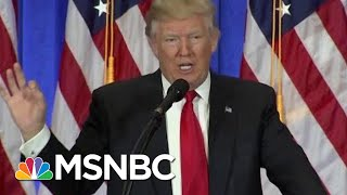 Report: President Donald Trump Had Lawyer Cover Up Business With Russia | Morning Joe | MSNBC