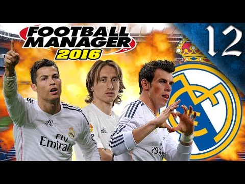 FOOTBALL MANAGER 2016 - REAL MADRID EP. 12 - ANOTHER EL CLASICO!