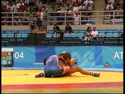 Athene 2004 freestyle wrestling