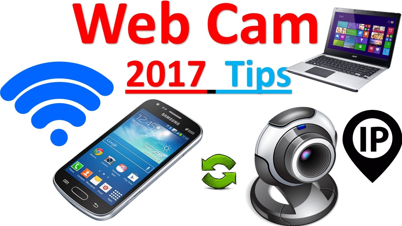 How to use your iphone or android phone as a webcam
