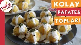 Kolay Patatesli Havuçlu Toplar - Nefis Yemek Tarifleri