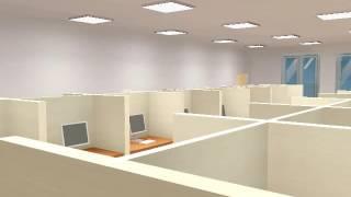 Освещение офисного помещения 140 кв  метров(, 2016-09-12T13:07:10.000Z)