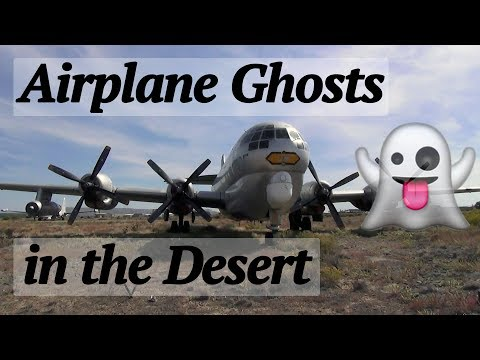 Ghosts of the past at the Greybull aircraft boneyard