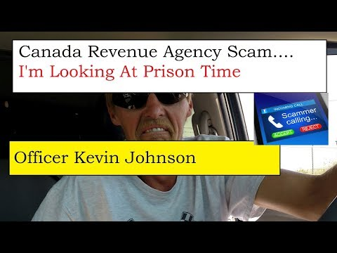 CRA Scammer Call Gone Wrong. Arrest Warrant