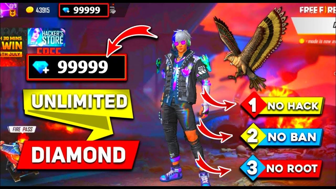 How To Get Free Diamonds Without Paytm Free Fire Free Diamonds Booyahboys Youtube