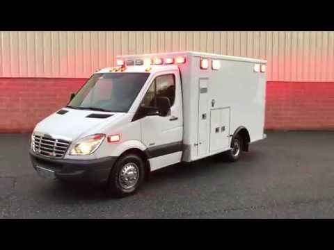 Used Ambulance for sale by Pilip Customs - 2011 Freightliner Mercedes Benz  Sprinter 3500 Ambulance