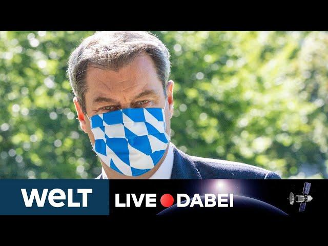 CORONAVIRUS IN BAYERN: Statement von Markus Söder nach der Corona-Sondersitzung des Kabinetts