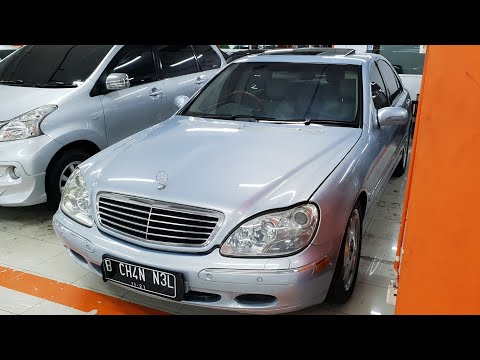 In Depth Tour Mercedes Benz S500 [W220] (2001) - Indonesia