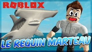 THE HAMMERHEAD SHARK IS POWERFUL! Roblox Sharkbite