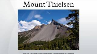 Mount Thielsen