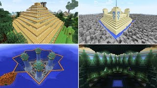 Minecraft : The Evolution Of My Minecraft Bases