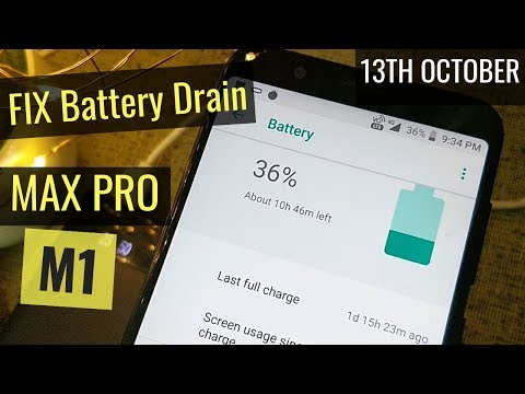 Zenfone Max Pro M1: Fix Battery Drain Issue 13th October