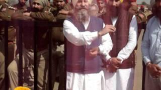 prof.mohinderpal singh, genral sec.sad amritsar,protest against ahluwalia