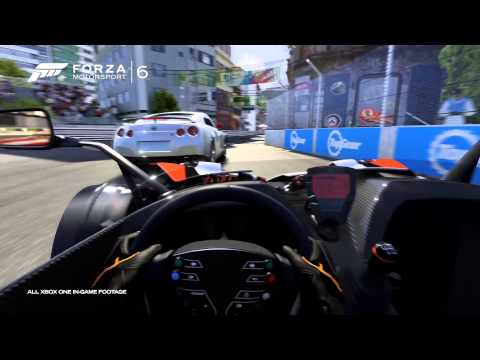 Forza Motorsport 6 Gameplay Trailer E3 2015 in 4K UltraHD EXCLUSIVE XboxOne