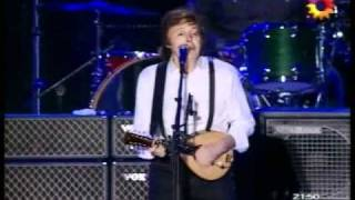 Paul McCartney All my loving / My love / Dance Tonight / Something Argentina 2010