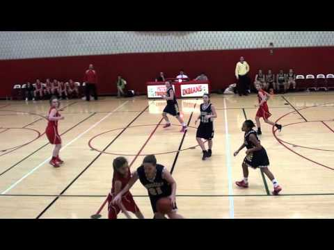 2 18 2016 Peters Township Middle School 7th Grade Girls vs Ringgold   First Quarter