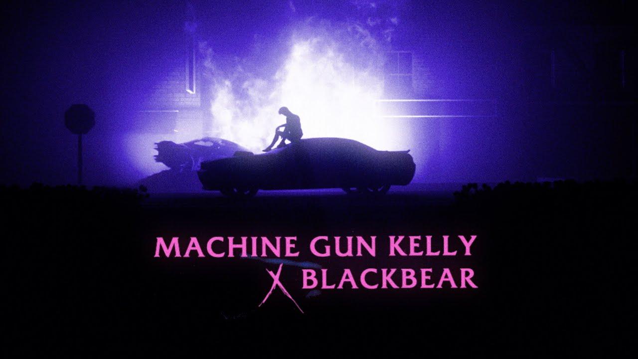 Machine Gun Kelly ft. blackbear - my ex's best friend (Official Lyric Video)