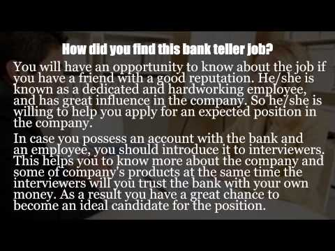 World bank interview questions