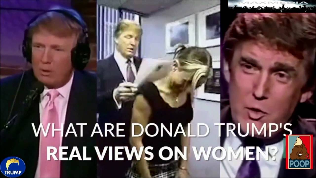 Donald Trumps Sexist Views On Women  Video Compilation - Youtube-4645
