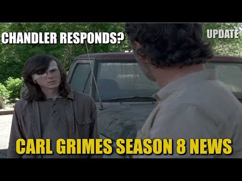The Walking Dead Season 8 Carl News & Discussion - Chandler Riggs Responds On Twitter & Instagram