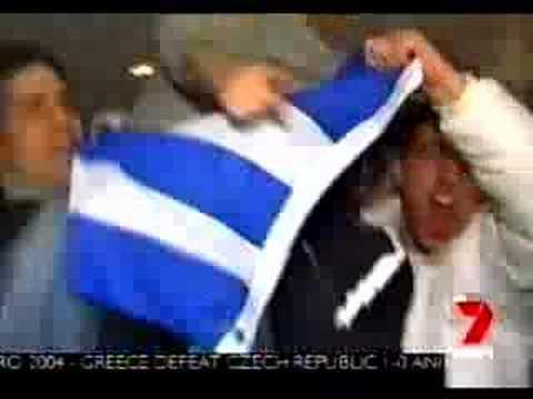Channel 7 - Greeks in Australia Going Wild
