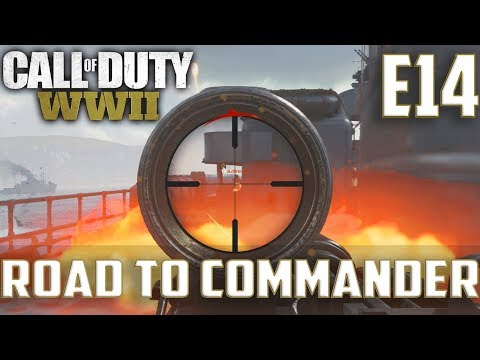 Call Of Duty World War 2(RTC)PS4 Ep.14-TDM On USS Texas,Pointe Du Hoc(Waffe 28 Soggy Gameplay)