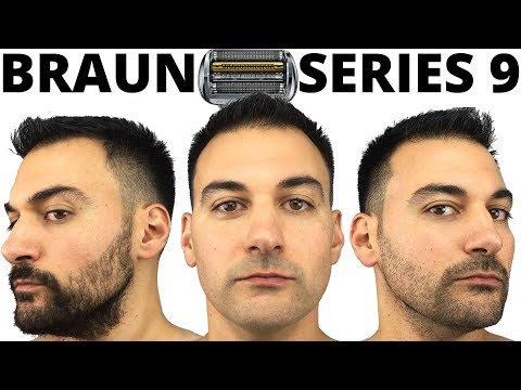 Beard Trimming – Braun Series 9 Foil Shaver – Model 9290cc