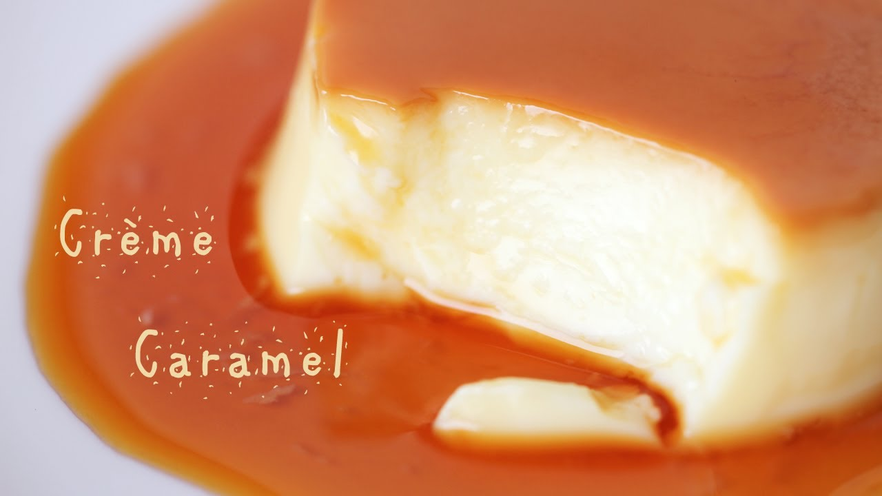 How To Make Creme Caramel Custard Pudding Recipe 푸딩 만들기