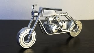 How To Make Motorcycle Showpiece