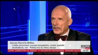 Janusz Korwin-Mikke - OFE, ZUS 08.12.2013