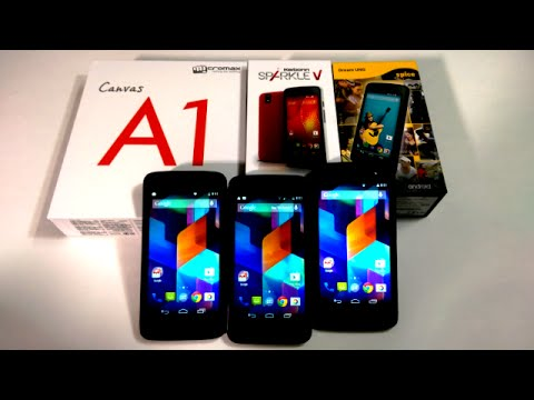 Google Android One Comparison: Micromax Canvas A1 VS Spice Dream UNO VS Karbonn Sparkle V Comparison