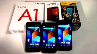 google android one comparison micromax canvas a1 vs spice dream uno vs karbonn sparkle v comparison