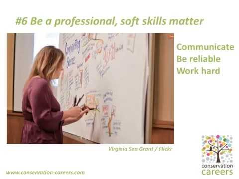 Conservation Careers Advice - Top Ten TIps on how to get a job in conservation