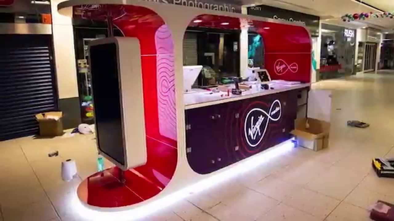 Exhibition stand design virgin media sushi bar 2015 for Stand pub