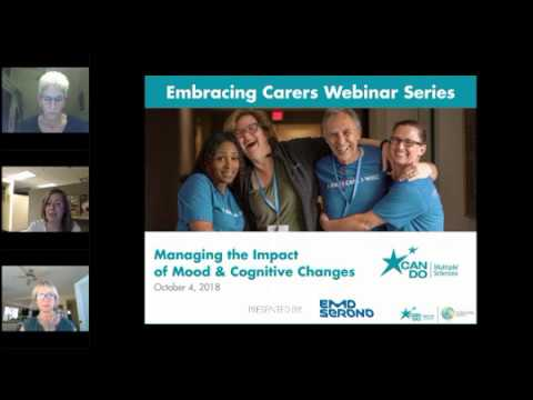 Embracing Carers Series: Managing the Impact of Mood and Cognitive Changes