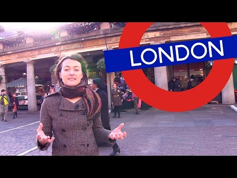 Welcome to London - Tour around Covent Garden