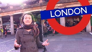 Welcome to London – Tour around Covent Garden
