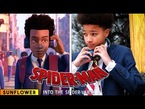 Sunflower - Spiderman: Into The Spider Verse - In Real Life