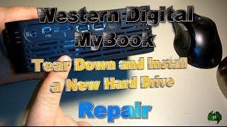 WD MyBook Repair - Replace the Hard Drive