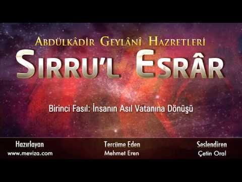 Abdulkadir Geylani Hazretleri - Sırru'l...